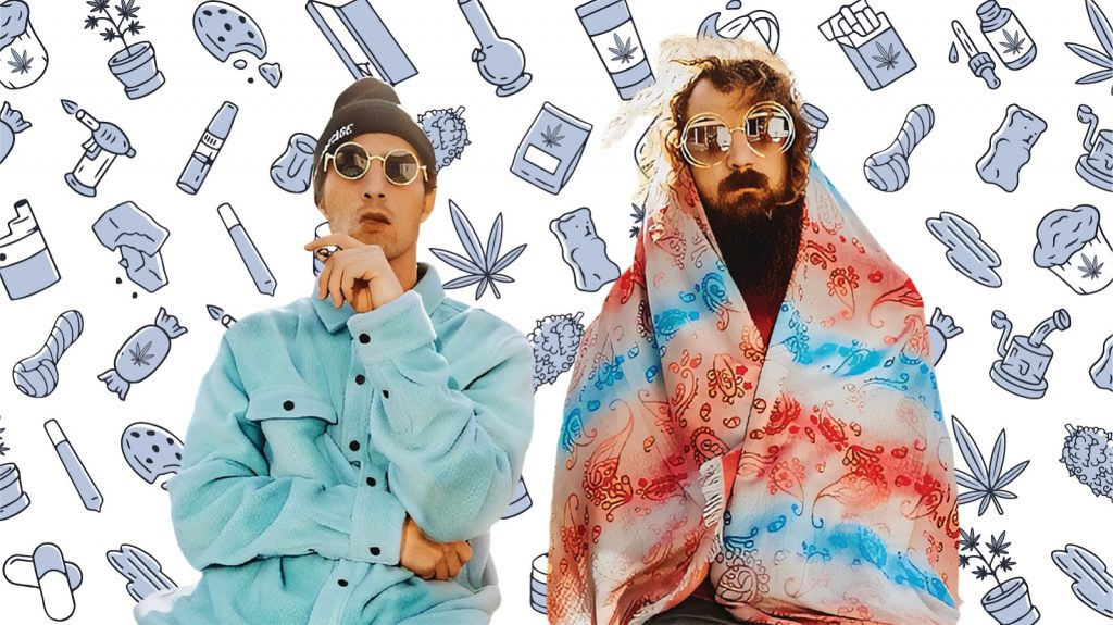 5 cannabis products electronic dance duo Hippie Sabotage can't live without